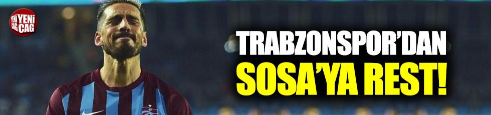 Trabzonspor'dan Sosa'ya rest!