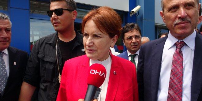 Akşener'den Erdoğan Demirören açıklaması