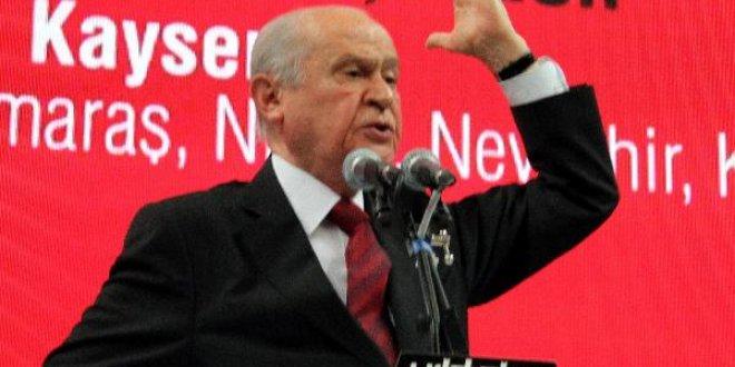 """Bahçeli: """"MHP anketlere sığmaz"""""""
