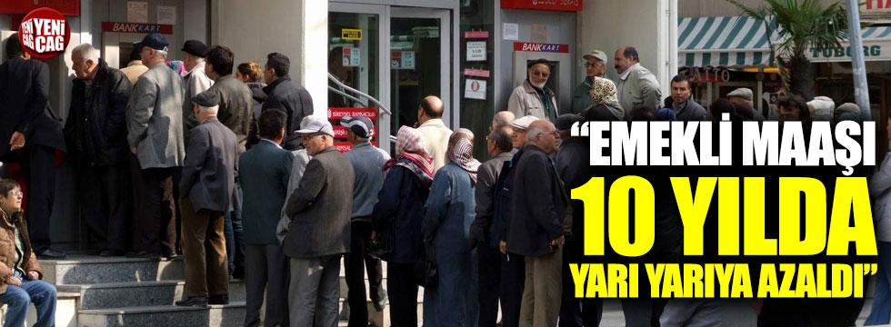 """Kılıçdaroğlu: """"Emekli maaşı 10 yılda yarı yarıya azaldı"""""""