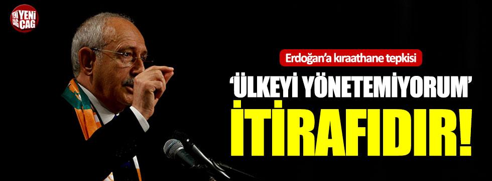Kılıçdaroğlu'ndan Erdoğan'a 'kıraathane' tepkisi
