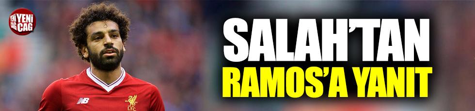 Salah'tan Ramos'a yanıt