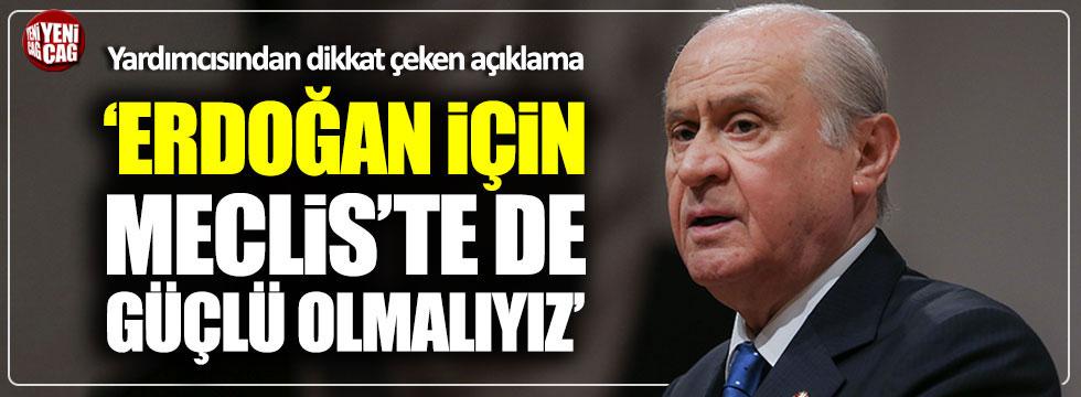 """MHP'li Aycan: """"Güçlü bir MHP demek, güçlü bir Erdoğan demek"""""""