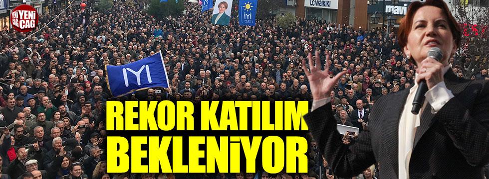 İYİ Partili Ulupınar: Rekor katılım bekliyoruz