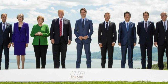 G7 Zirvesi'nde derin çatlak