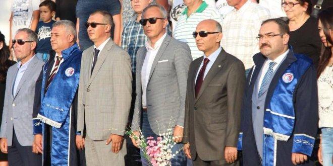İYİ Partili Ünal Çetin'e törende sansür