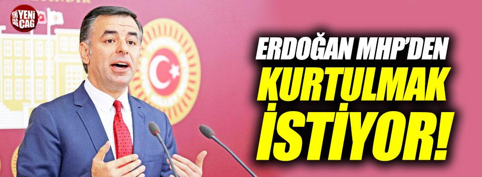 """Yarkadaş: """"Erdoğan MHP'den kurtulmak istiyor"""""""