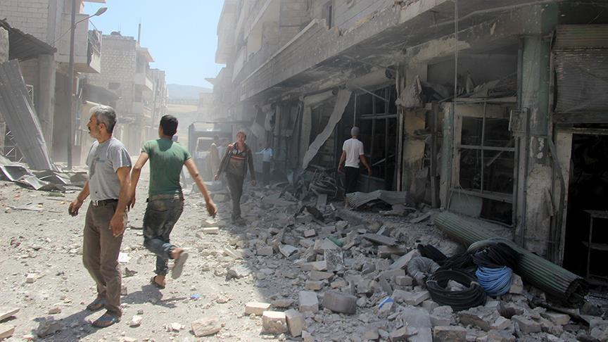 İdlib'de çocuk hastanesine saldırı