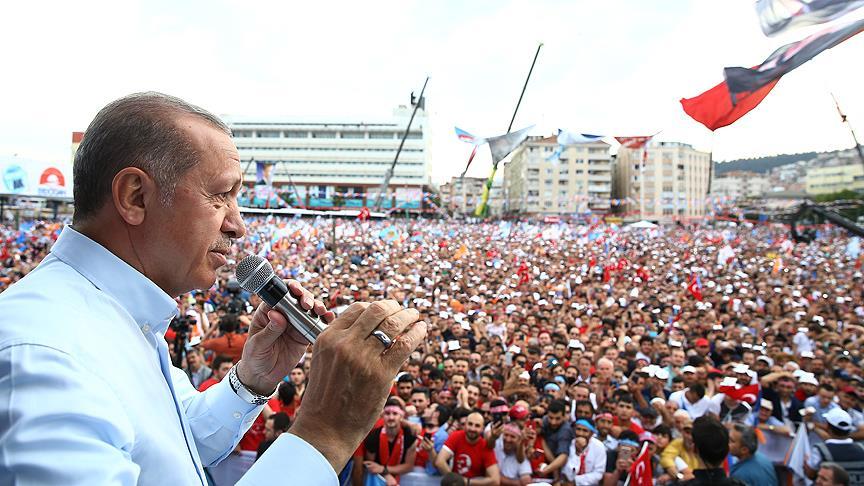"""Erdoğan, """"Uzaya nasıl ulaşırız bunun çalışmalarını yapıyoruz"""""""