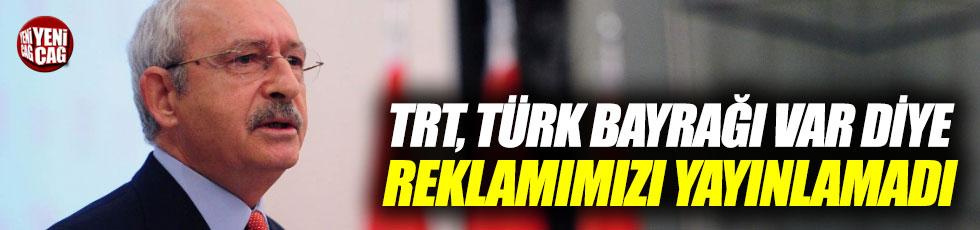 TRT'ye Türk bayrağı tepkisi