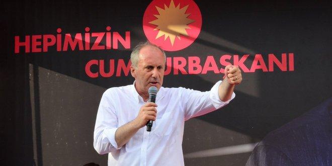Muharrem İnce'den Erdoğan'a tazminat davası