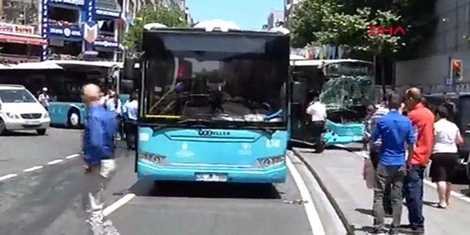 İstanbul'da halk otobüsü terörü