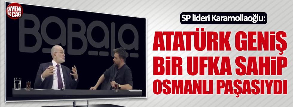 Karamollaoğlu: Atatürk geniş bir ufka sahip Osmanlı paşasıydı