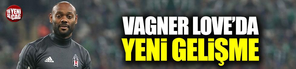 Beşiktaş'ta Vagner Love gelişmesi