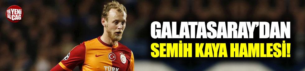 Galatasaray'da Semih Kaya hamlesi!