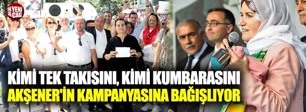 Akşener'in kampanyasına bağış yağıyor