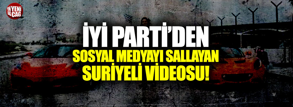 İYİ Parti'den mülteci sorunu için dikkat çeken video