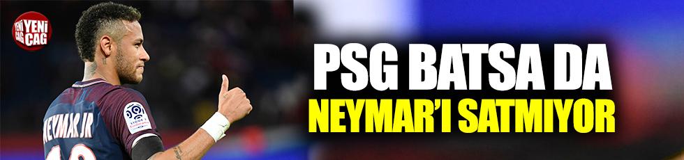 PSG Neymar'ı bırakmak istemiyor