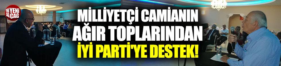 Milliyetçi camianın ağır toplarından İYİ Parti'ye destek