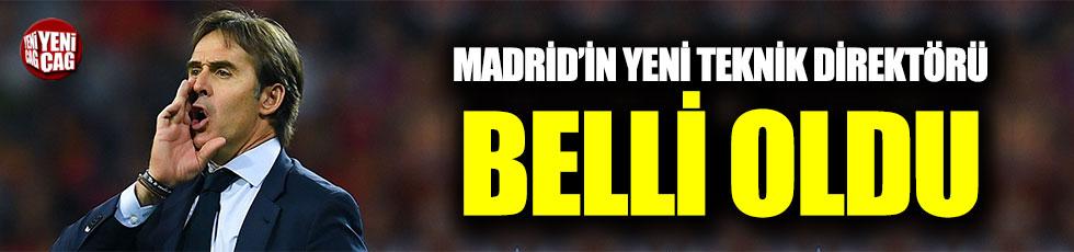 Madrid'in teknik direktörü belli oldu