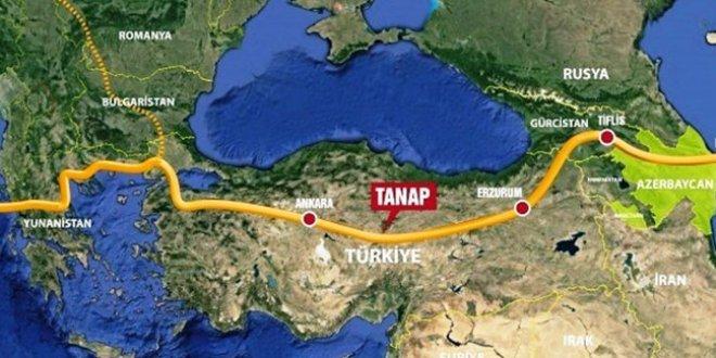 TANAP açıldı