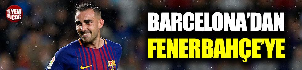 Fener'e Barcelonalı forvet