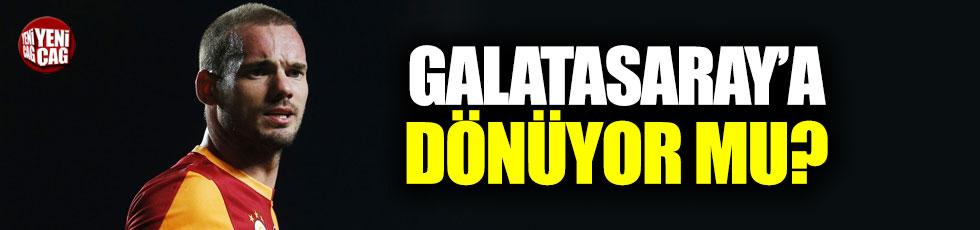 Sneijder Galatasaray'a dönüyor mu?