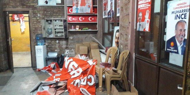 Millet İttifakı partilerine gece yarısı saldırı