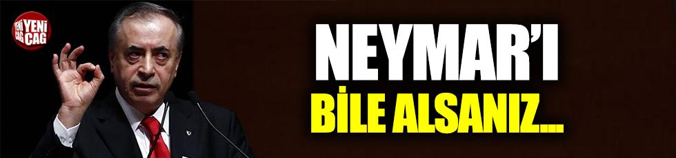 """""""Neymar'ı alsanız böyle kontrat yapılmaz"""""""
