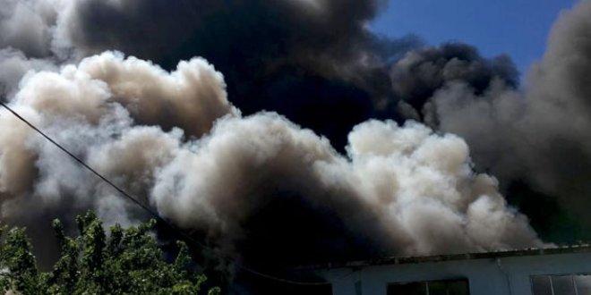 İstanbul'da bir fabrika yangını daha