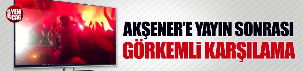 Akşener'e NTV yayını sonrası görkemli karşılama