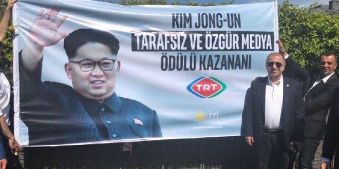 İYİ Parti'den TRT'ye Kim Jong-un'lu gönderme