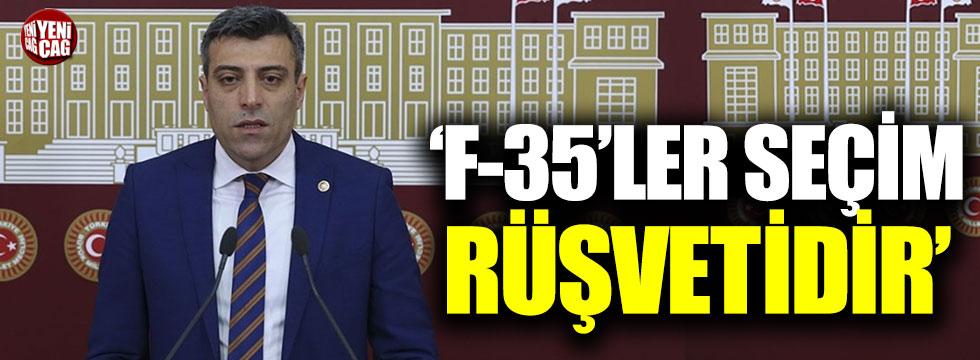 """Yılmaz: """"F35'ler seçim rüşvetidir"""""""