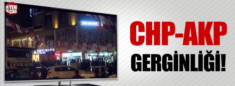 Van'da CHP AKP gerginliği