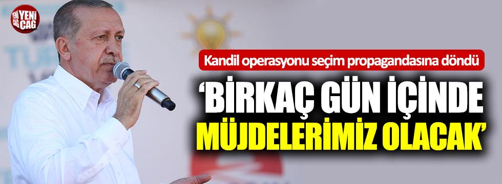 """Erdoğan'dan İnce'ye: """"Birkaç gün içinde müjdelerimiz olacak"""""""