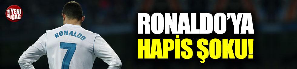 Ronaldo'ya hapis şoku!