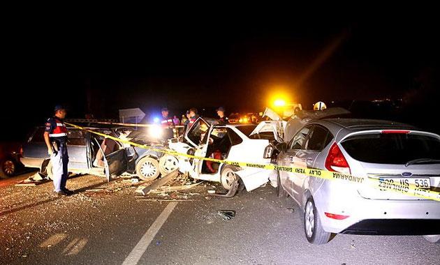 Nevşehir'de zincirleme trafik kazası