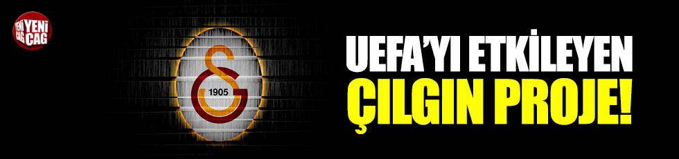 Galatasaray'dan UEFA'yı etkileyen çılgın proje
