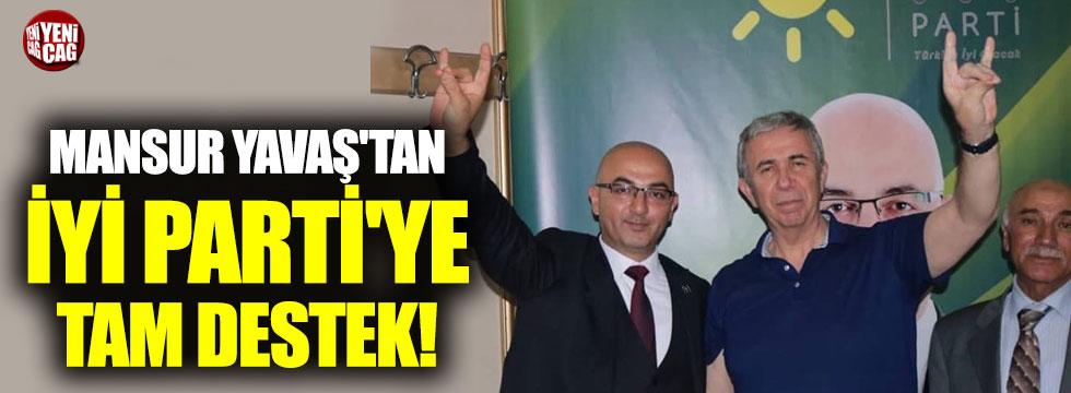 Mansur Yavaş'tan İYİ Parti'ye tam destek!