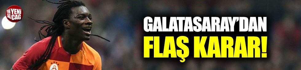 Galatasaray'dan flaş Gomis kararı