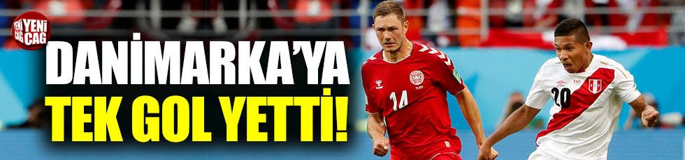 Peru - Danimarka maç sonucu: 0-1