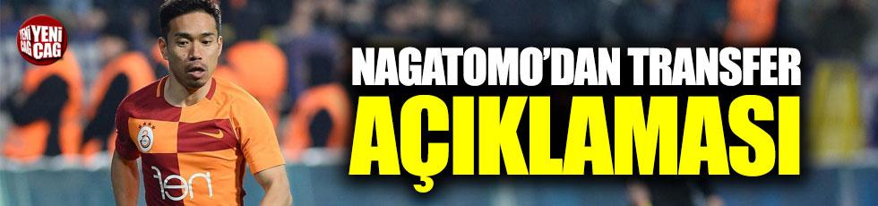 Nagatomo'dan transfer açıklaması