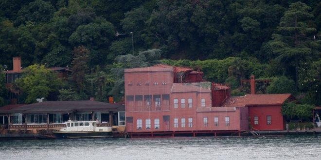 Gemi çarpan yalıya fotoğraflı kamuflaj