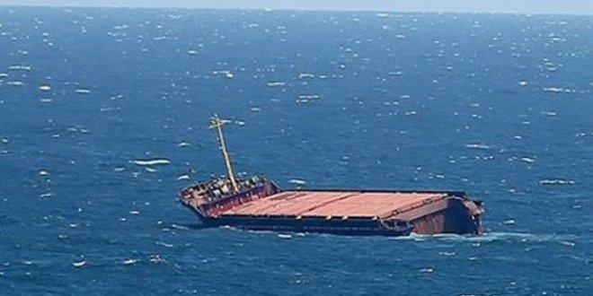 Hırvatistan'da Türk gemisi batıyor