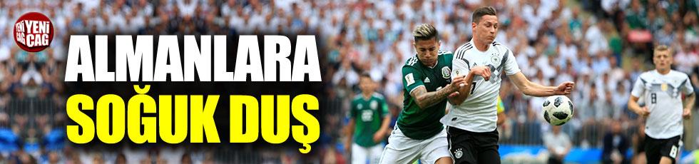 Almanya'ya Meksika şoku