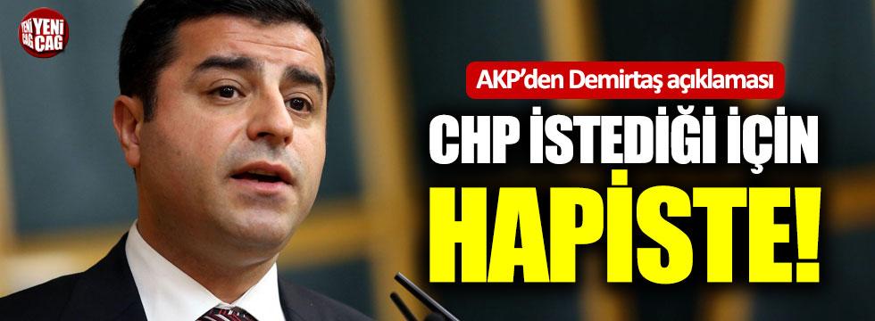 AKP'den Demirtaş açıklaması