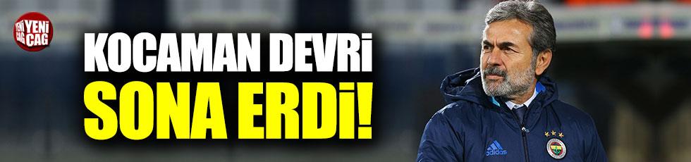 Fenerbahçe Aykut Kocaman ile yollarını ayırdı