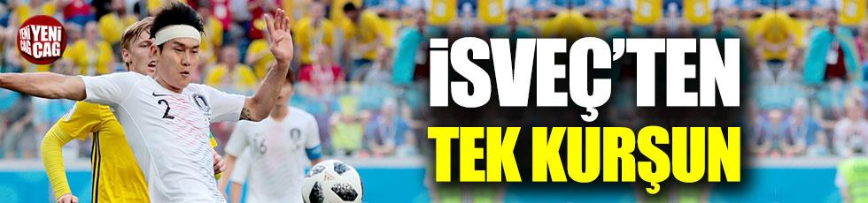 İsveç Güney Kore'yi tek golle geçti