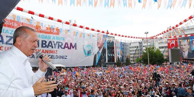 Erdoğan İYİ Partililerden oy istedi