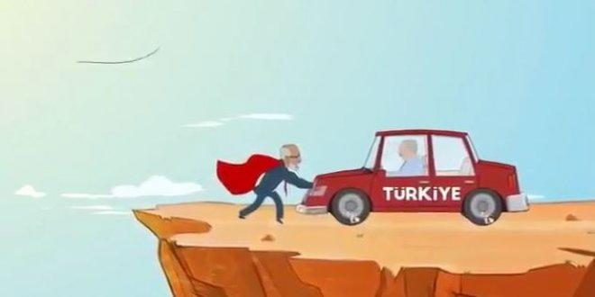 Karamollaoğlu'nun animasyon filmi dikkat çekti